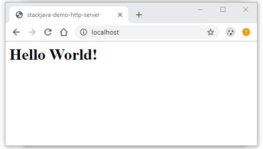 Code ví dụ Node.js - Tạo server với module http-server