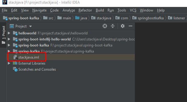Mở nhiều project, module cùng lúc trong Intellij
