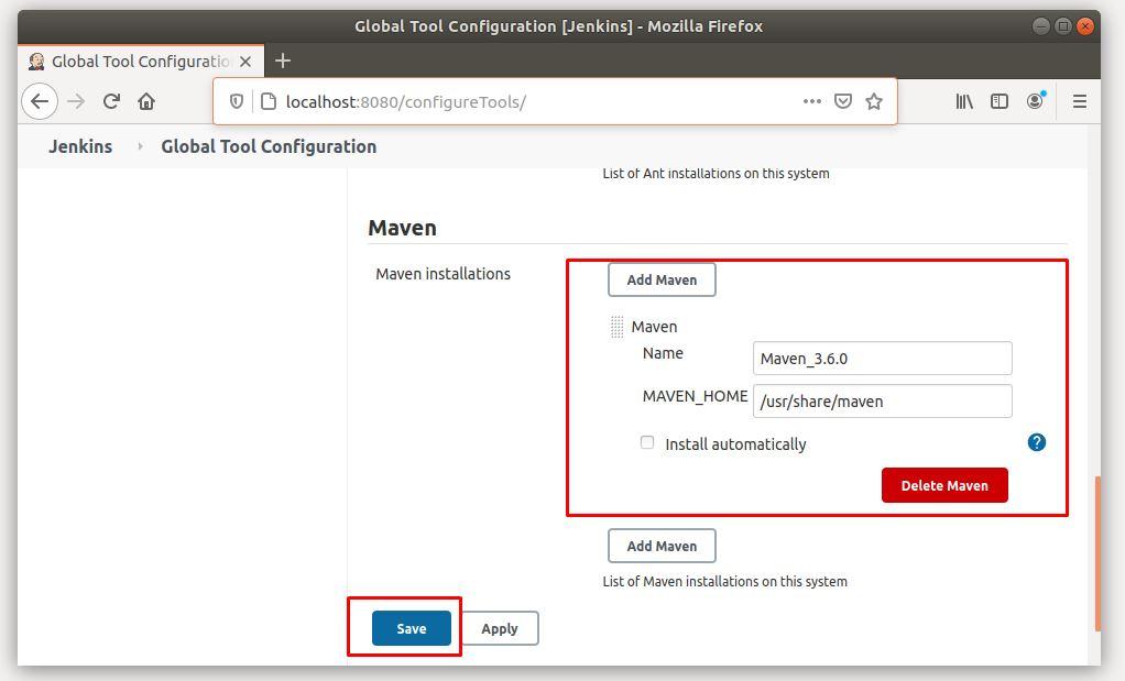 Hướng dẫn cấu hình Maven cho Jenkins (Build Maven Project)