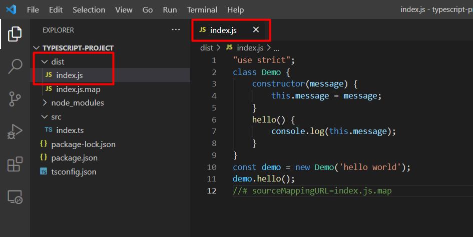 Hướng dẫn tạo project TypeScript chi tiết, ví dụ TypeScript
